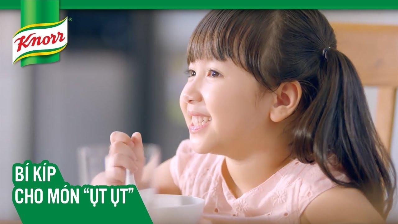"""Phim ngắn Knorr – Bí Kíp Cho Món """"Ụt Ụt"""" – Hạt Nêm Knorr Thịt Thăn, Xương Ống & Tủy"""