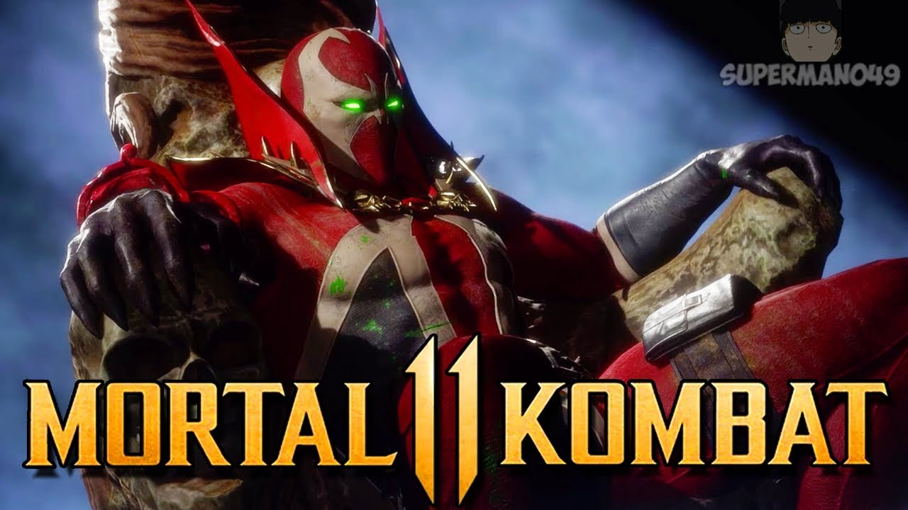 "Spawn Breaks The Game With This Amazing Move! - Mortal Kombat 11: ""Spawn"" Gameplay"