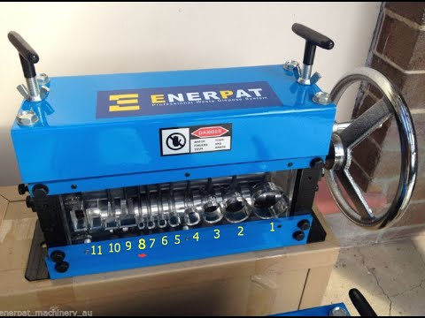 Enerpat -Crank Wheel & Drill Operated cable wire stripping machine in Australia