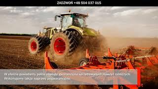 Sprzedaż maszyn rolniczych serwis maszyn rolniczych ciągniki Chwałki Rol-Gos