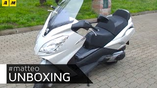 L'unboxing di Matteo: Peugeot Satelis 400