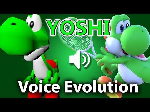 YOSHI: Voice Evolution (1996-2017)