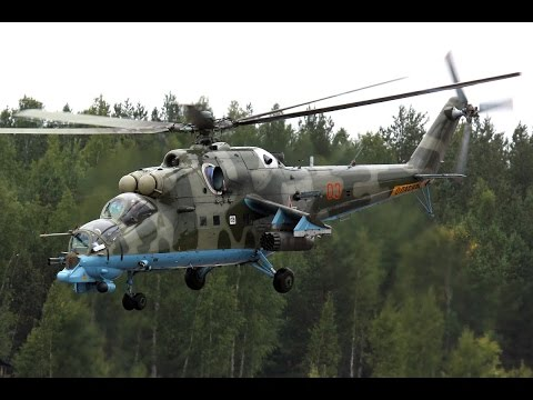 Russian Hind Gunship   Fastest Heavily Armed Helicopter   Military