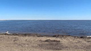 View of Great Slave Lake from Hay River, NWT