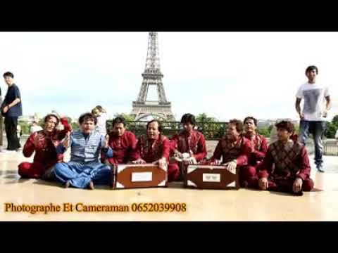 Asif Ali Santoo Khan Qawwal In Front of the Eiffel Tower