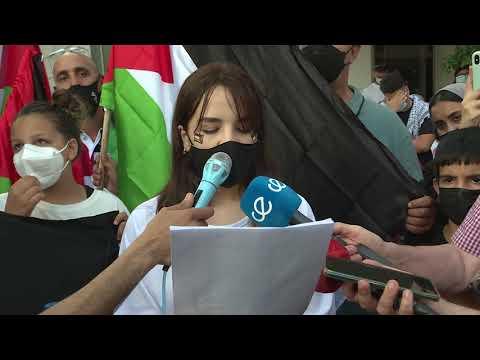 Concentración en favor del pueblo palestino y como repulsa al conflicto en la franja de Gaza