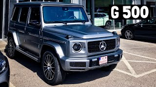 NEW Mercedes G Class G500 2019 FULL REVIEW Interior Exterior Infotainment AMG Line | W464
