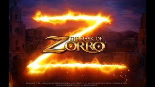 The Mask of Zorro Online Slot from Playtech