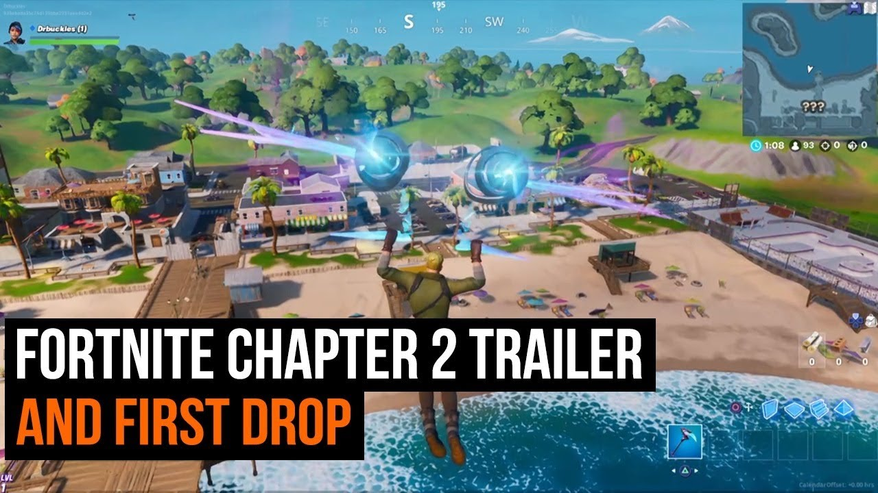 Fortnite Chapter 2 Season 1 First Drop Trailer