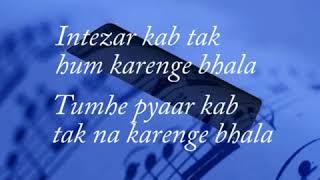 Zindagi do pal ki Movie KITES  with lyrics