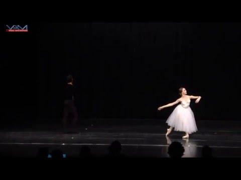 Lawrence Chen Jordan Coutts Giselle Pas de Deux 2nd Place Ensemble YAGP 2016