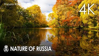 Nature of russia in 4k video 60fps hdr (ultra hd) / beautiful