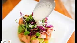 Сногсшибательная закуска из сырой маринованной рыбы
