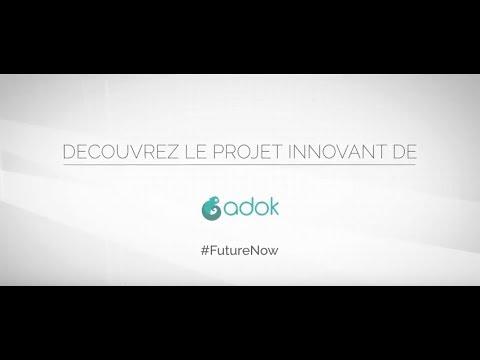 ADOK la start-up de video projection tactile soutenue par NEFTYS