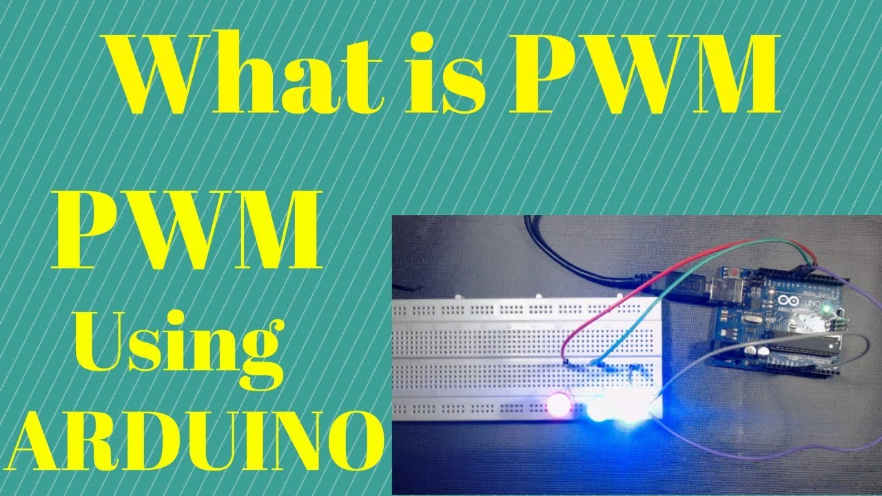 What is PWM | How to generate PWM signal using Arduino
