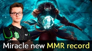 Miracle new MMR world record — road to 10k with Kunkka Dota 2
