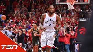 """Load Management"" plan paying off as Kawhi powers through playoffs"