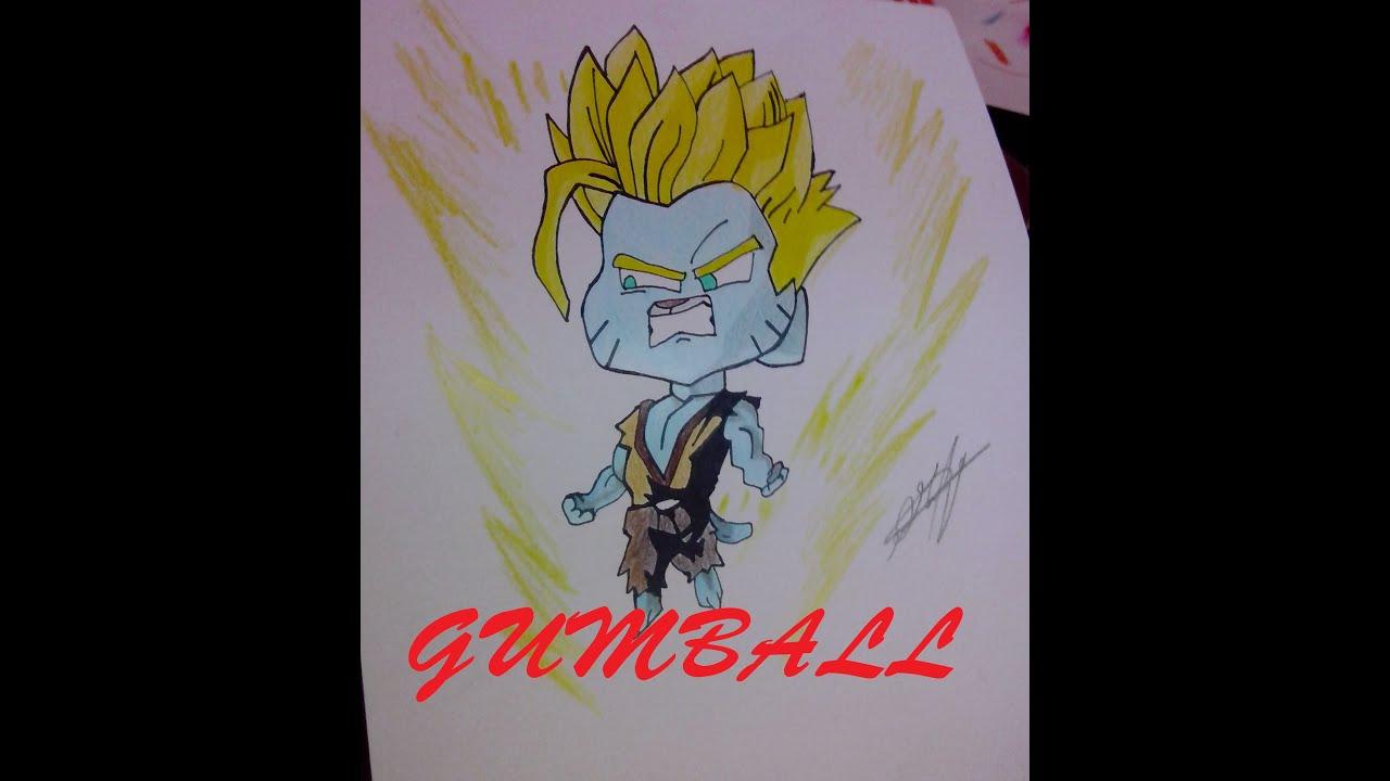 Drawing Gumball Sayayin  YouTube