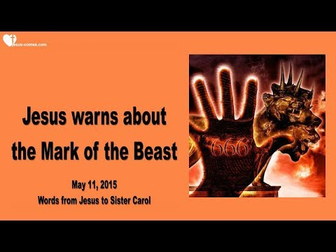 JESUS WARNS ABOUT THE MARK OF THE BEAST... IT WILL CHANGE YOUR DNA ❤️ Love Letter from Jesus