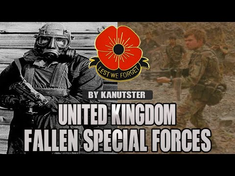 """United Kingdom Special Forces - """"The Fallen"""""""