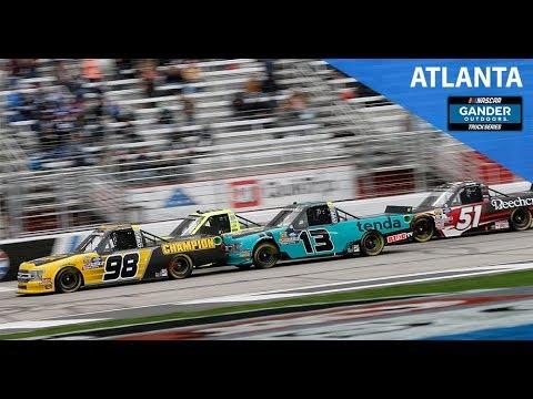 FULL RACE: NASCAR Gander Outdoors Truck Series From Atlanta