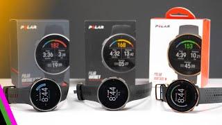 Polar Vantage Series GPS Sportswatch Comparison // Vantage V Titan, Vantage V, Vantage M