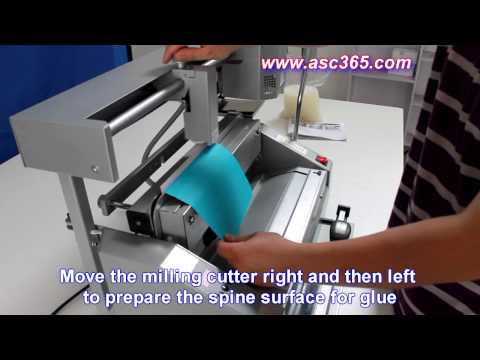 How to bind a book by Hot Thermal Glue Manual Binding Machine 026562