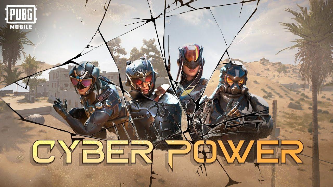 PUBG MOBILE   Bersiaplah untuk mengaktifkan kekuatan Cyber Power!