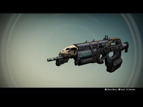 Destiny: Exotic Weapon Bounty - Toland's Legacy (Bad Juju)