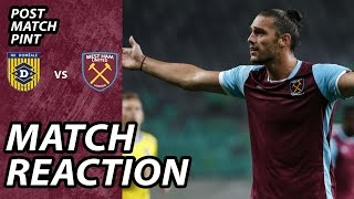Video Gol Pertandingan Domzale vs West Ham United
