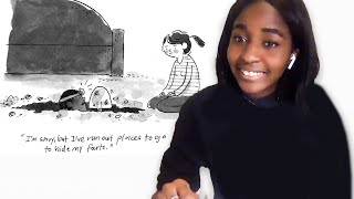 Big Mouth's Ayo Edebiri Tries to Keep Up with a New Yorker Cartoonist