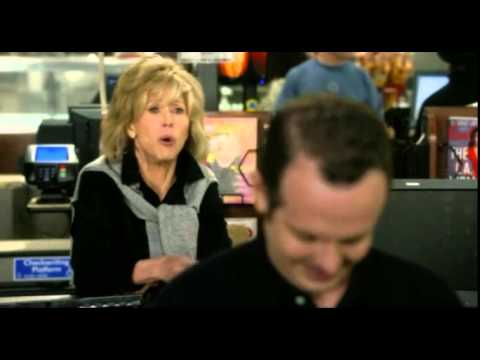 Grace & Frankie - Grace (Jane Fonda) has a minor melt down while being ignored by store clerk