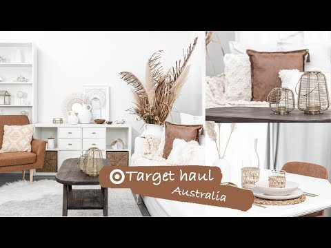 Target Home Decor Haul Australia 2019 | Target Living Room + Dining Room Makeover