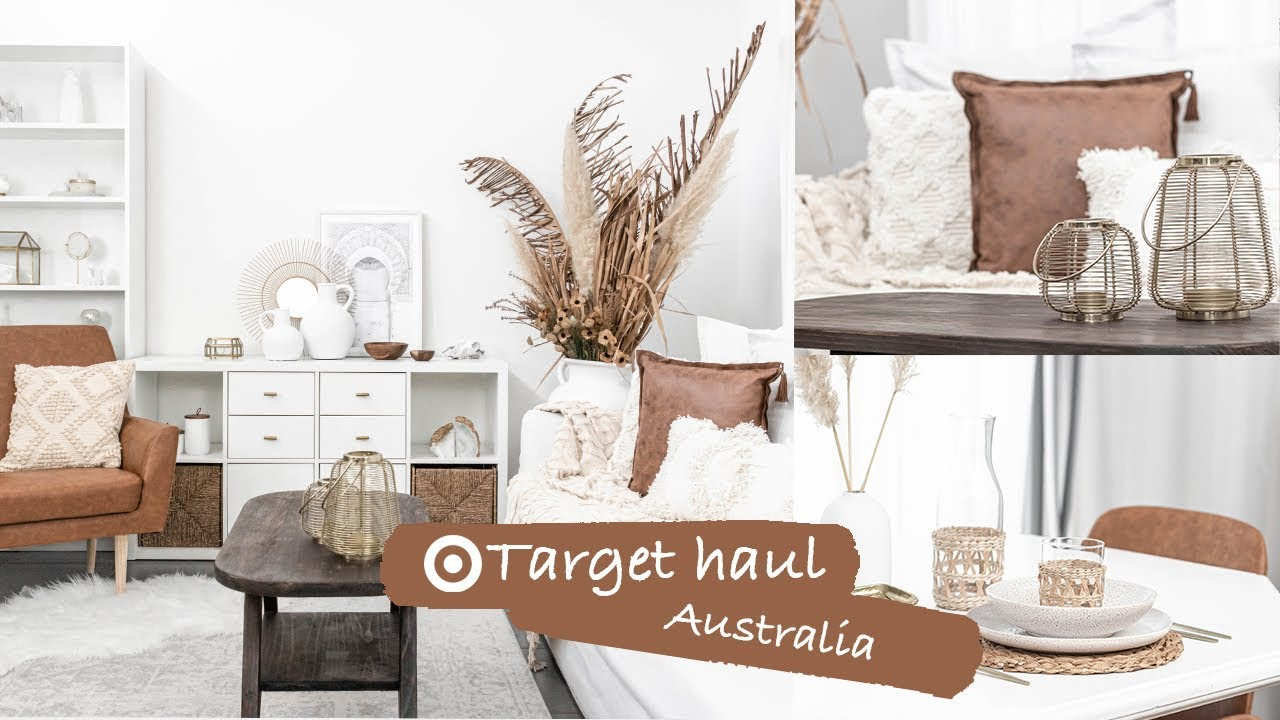 Target Home Decor Haul Australia 2019 Target Living Room Dining Room Makeover Youtube