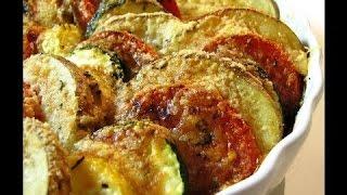 Картофель с кабачками #  Кабачок картошка