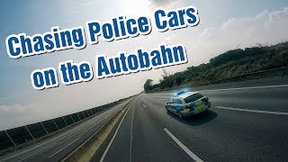 FPV Chasing Police Cars on an the German Autobahn