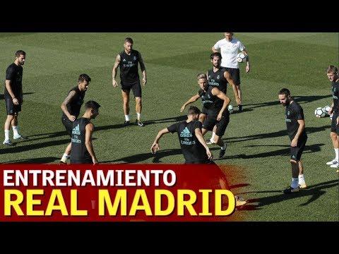 Deportivo - Real Madrid | Último entrenamiento en Valdebebas | Diario AS