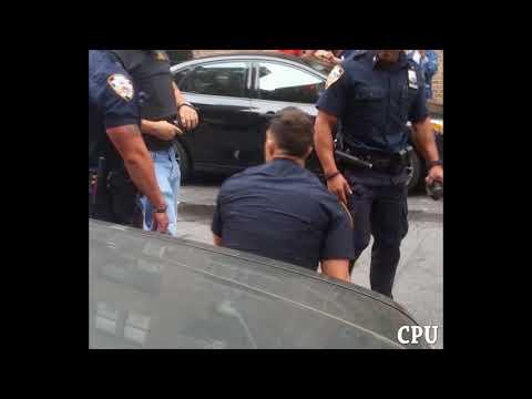 46 Pct. NYPD Cop Sucker Punch A Civilian