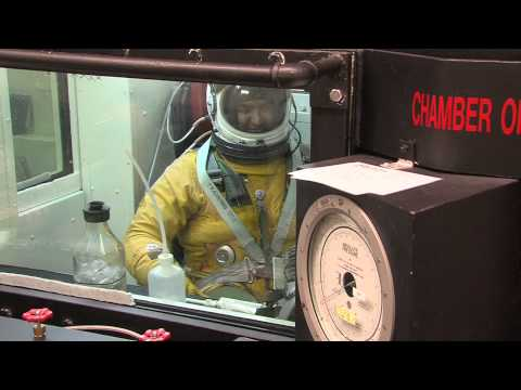 Explosive Decompression - U-2 High Altitude Chamber Training