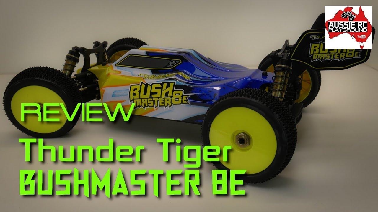 Neu Thunder Tiger Karosserie /& Spoiler Bushmaster 8E Buggy 1//8