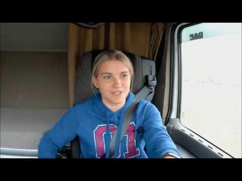 Будни дальнобойщицы: рейс Москва - Томск, часть 1. - Видео онлайн