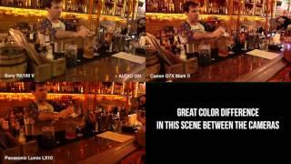 Sony RX100 V vs Canon G7X Mark II vs Panasonic Lumix LX10 Night Shoot