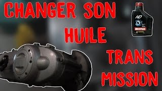 TUTO | CHANGER SON HUILE DE TRANSMISSION [Scooter]