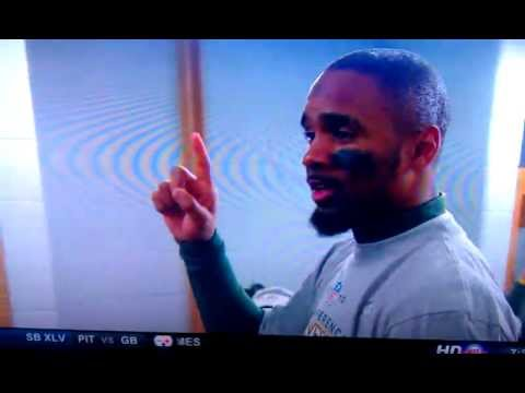 Charles Woodson speech Superbowl - calls out President