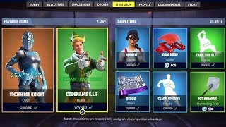 *NEW* FORTNITE ITEM SHOP COUNTDOWN! December 22nd - New Skins LIVE! (Fortnite Battle Royale)