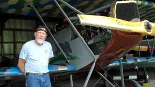 Old Rhinebeck Aerodromes Fokker D VII featuring Ken Cassens