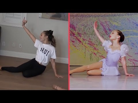 """Maddie Recreates her """"Cry"""" Solo 2010 vs 2018 Side  Side"""