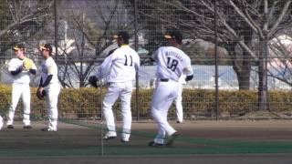 SoftBank HAWKS Spring Camp 2017 遠くでキャッチボールする松坂大輔.