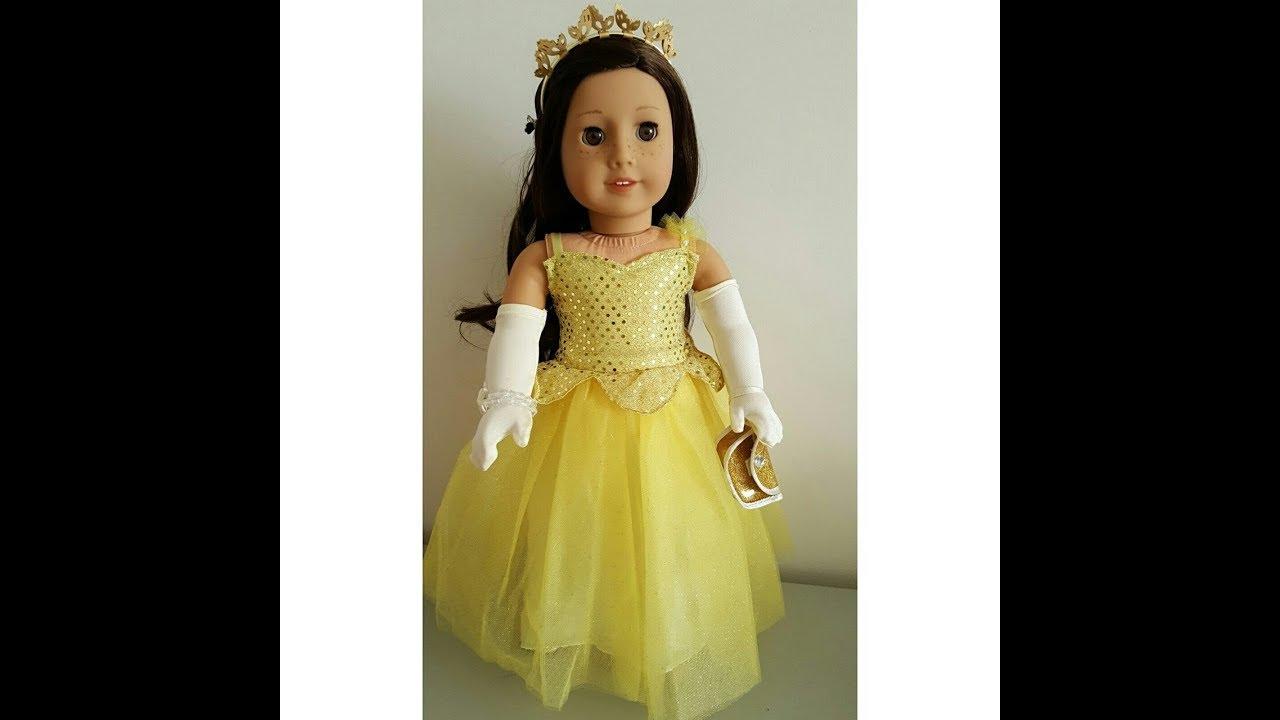 American Girl Shimmering Ballroom Gown 2017 - YouTube