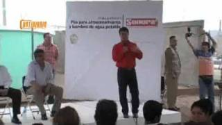 Eduardo Bours en Agua Prieta inauguracion obra notidiario
